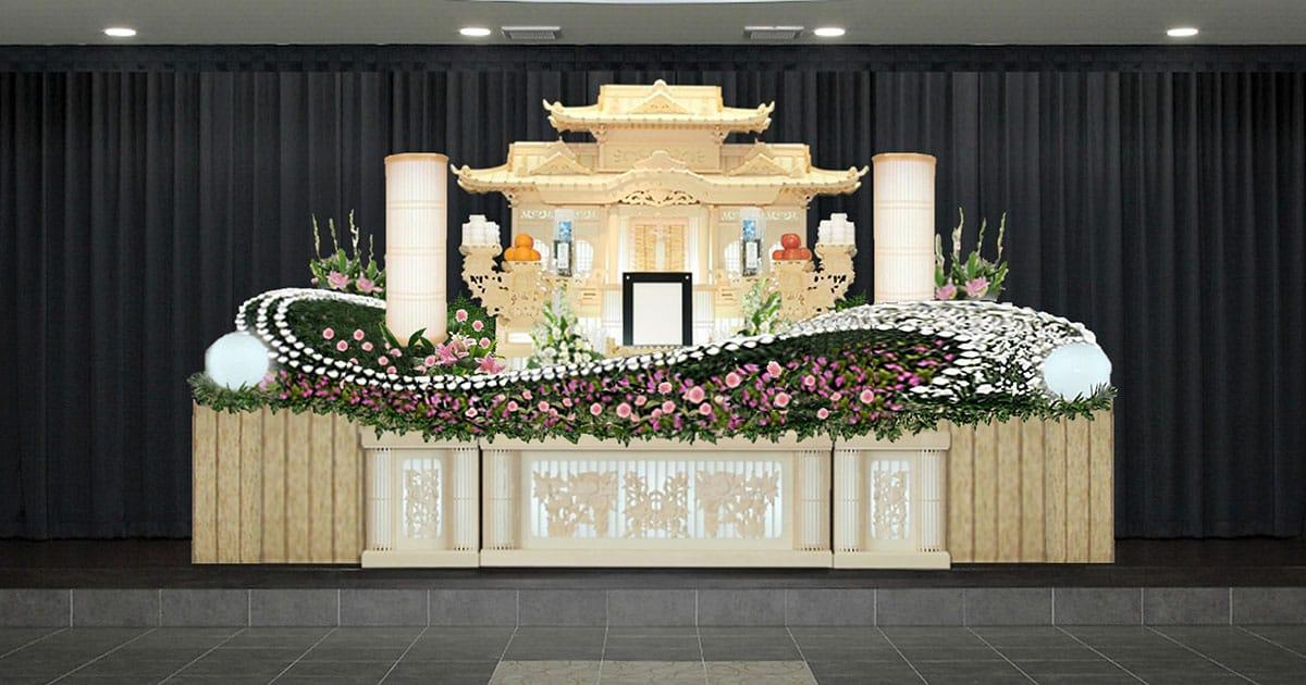 祭壇 白木 祭壇の種類ごとの意味と飾り方 葬儀・家族葬なら【よりそうお葬式】